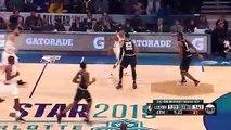 Steph Curry punit Klay Thompson avec une action à 4-points !