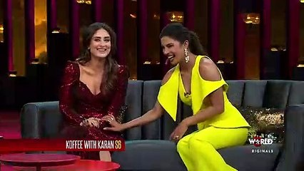 Koffee With Karan promo: Kareena Kapoor says Priyanka Chopra only cares about Hollywood celebrities now!