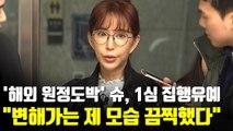 """[현장] '해외 원정도박' 슈, 1심 집행유예…""""제 모습 끔찍했다"""""""