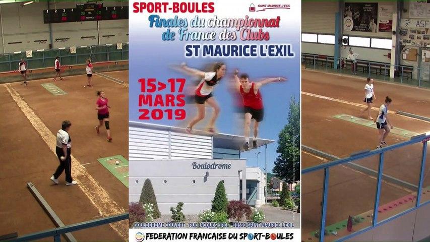 Premier tour, tir progressif, France Club Elite 1 Féminin, J5  groupe Titre,  Fontaine contre Bièvre Isère,  saison 2018/2019
