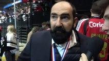 HOCKEY SUR GLACE 2019-02-17 Mario Richer Interview Coach des Gothiques d'Amiens Finale de la Coupe de France 2019 - Amiens VS Lyon