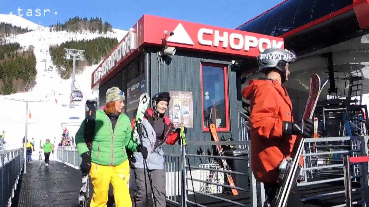NÍZKE TATRY: Takmer jarná lyžovačka pod Chopkom