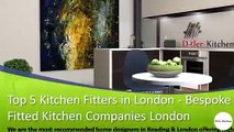 Top 5 Kitchen Fitters in London - Bespoke Fitted Kitchen Companies London