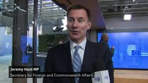Jeremy Hunt: Need trust and vision to resolve Irish backstop