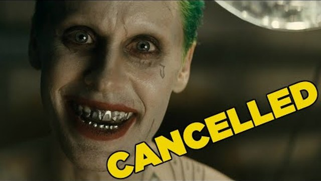 Why Jared Leto's Joker Movie Just Got Cancelled