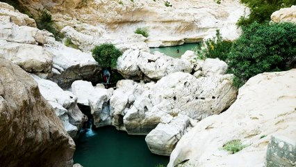 Wandern im Oman: Das Wadi Bani Khalid_Ausflug zur Oase der Ruhe