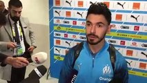 """Rennes-OM - Sanson : """"On veut rentrer à la maison avec les trois points"""""""