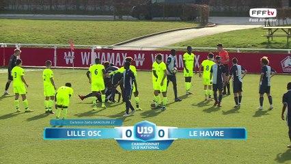 Championnat National U19 (18e journée, Gr A), LOSC-Le Havre AC (0-1) : le résumé