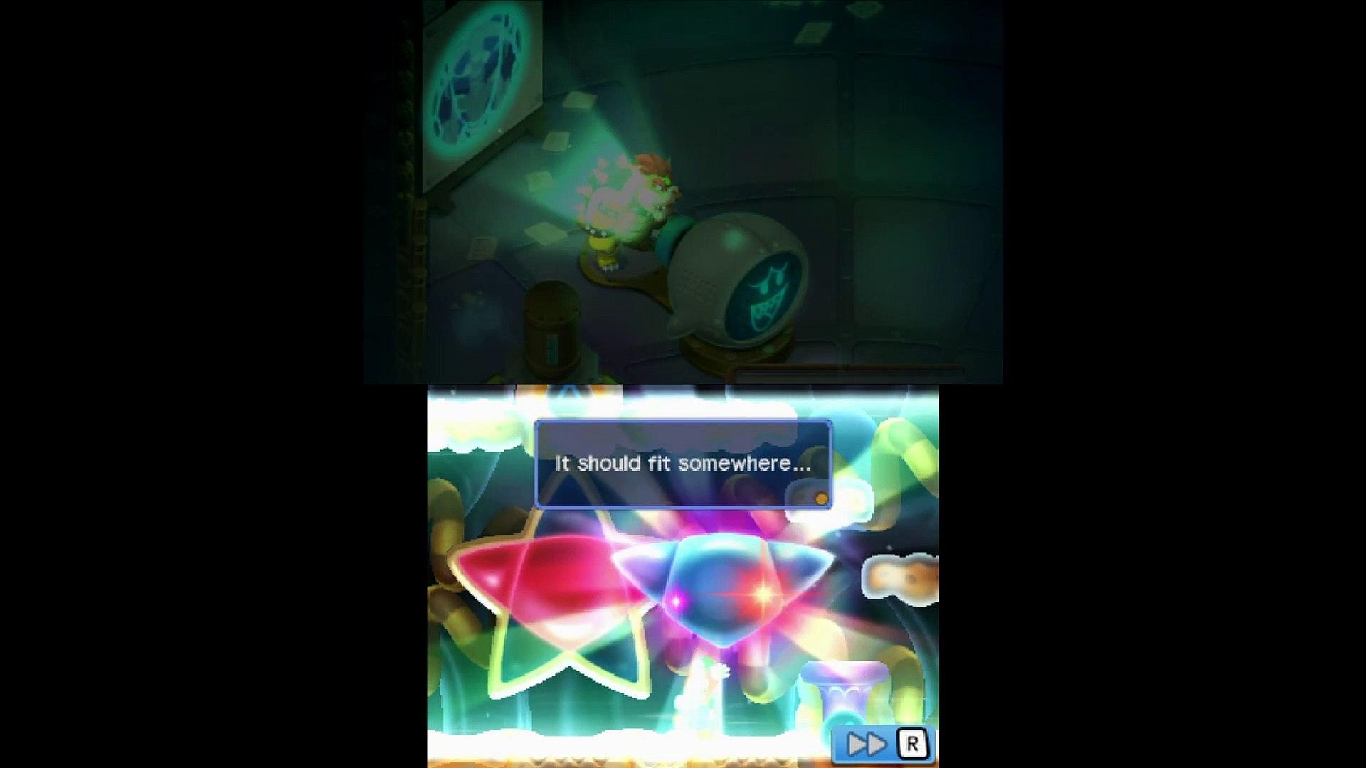 Mario & Luigi Bowser's Inside Story #22 — Звезда Странной Формы {3DS} прохождение часть 22