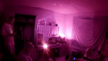 Lunar Paranormal Virginia Part 2 Extreme Spirit Box Session in Computer Room Extreme Haunted Residence by Cemetery