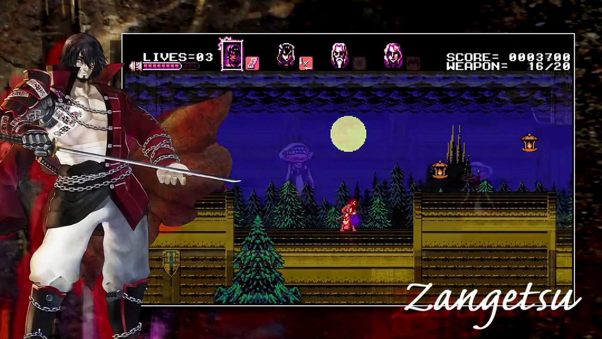 Bloodstained: Curse of the Moon - Debut