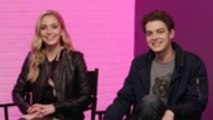 """'Happy Death Day 2U' Stars Jessica Rothe and Israel Broussard Talk """"Amping Up the Scares"""" in Sequel   In Studio"""