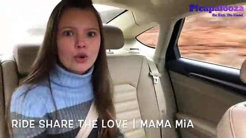"""Picapalooza's Latest Winner, Kylissa, Singing """"Mama Mia"""" for """"Ride Share the Love Challenge"""""""