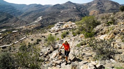 Wandern im Oman: Von Manakhir nach Al Aqar