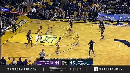 No. 23 Kansas State vs. West Virginia Basketball Highlights (2018-19)