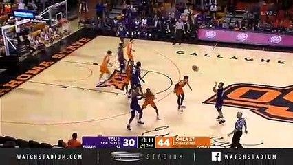 TCU vs. Oklahoma State Basketball Highlights (2018-19)