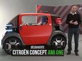 Citroën Ami One Concept (2019) : présentation vidéo