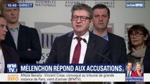 """Jean-Luc Mélenchon dénonce une """"instrumentalisation politicienne de la lutte contre le racisme et l'antisémitisme"""""""