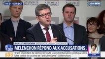 Antisémitisme: Jean-Luc Mélenchon demande à Christophe Castaner d'assurer la sécurité des membres de son groupe lors du rassemblement