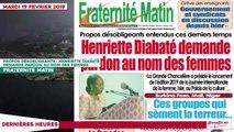 Le Titrologue du 19 Février 2019 : Des jeunes patriotes exportent leur vandalisme en France