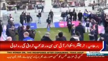 Cricket World Cup takes over Trafalgar Square