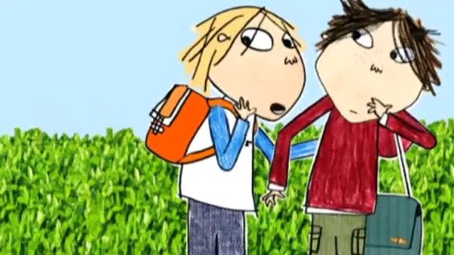 Charlie and Lola  S2E24 Never Ever Never Step on the Cracks
