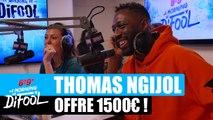 Thomas Ngijol offre 1500€ à un auditeur ! #MorningDeDifool