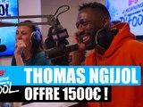 Thomas Ngijol offre 1500¤ à un auditeur ! #MorningDeDifool