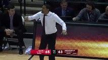 Une fin de match de basket se termine en mêlée générale avec un panier miracle !