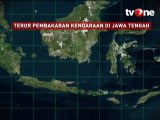 Data Kasus Teror Pembakaran Kendaraan di Jawa Tengah