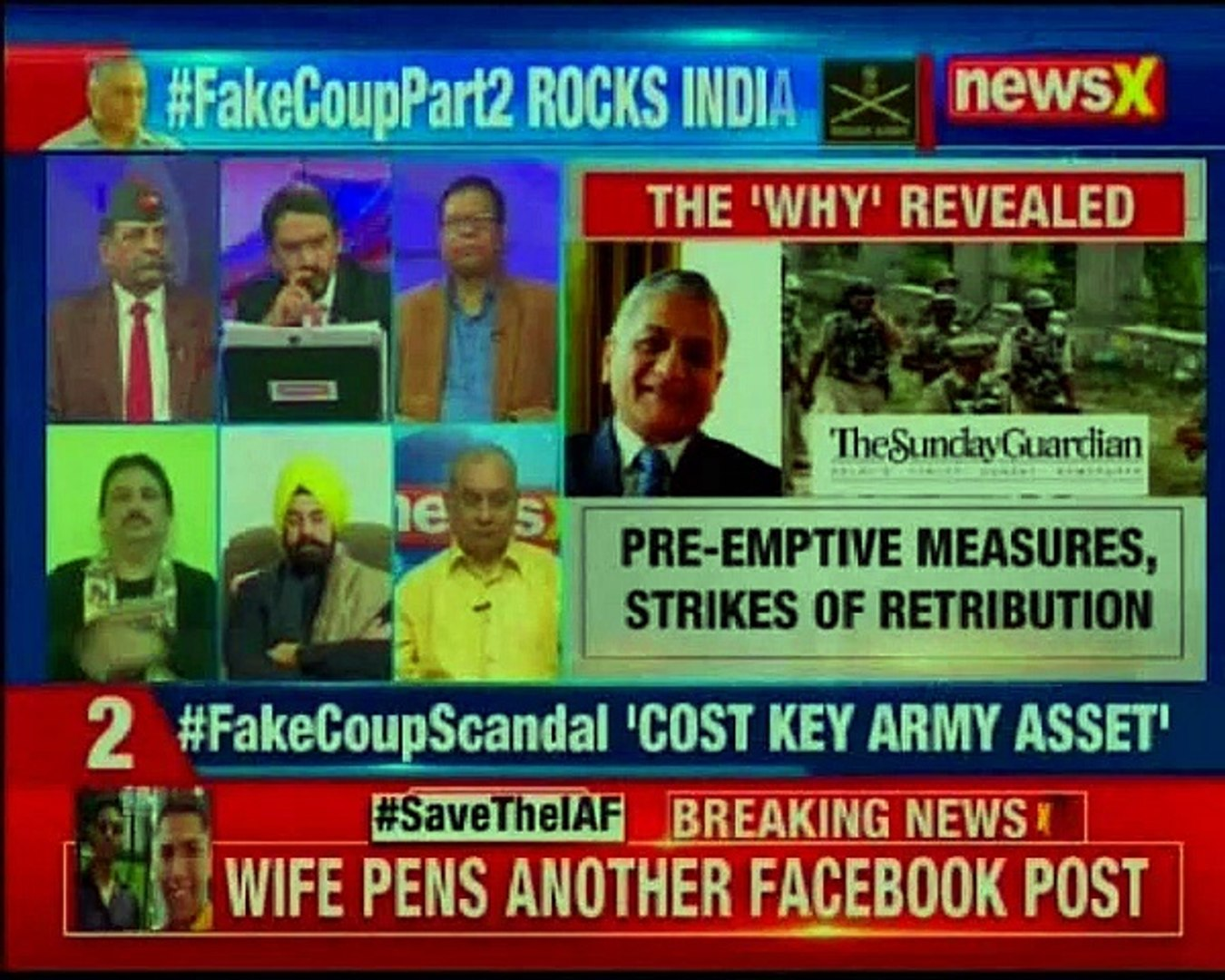 Fake Coup Scandal_: The full story is out; ego trumped war on terror_ _