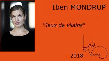 """Iben MONDRUP à Smarves pour son livre """"Jeux de vilains"""""""