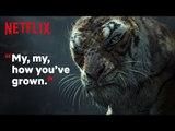 Mowgli: Legend of the Jungle   Clip: Shere Khan Traps Mowgli   Netflix