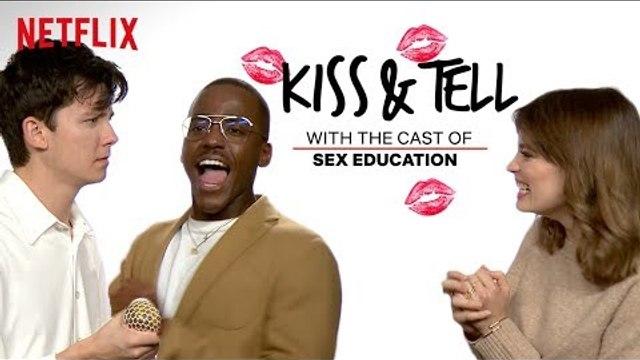Sex Education Cast Take the Blindfolded Kissing Challenge | Kiss & Tell | Netflix