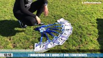 Le 18:18 : 7 marathons en 7 jours sur 7 continents, l'incroyable exploit d'une Cugeoise de 42 ans