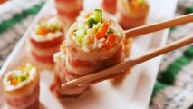 Meet Our Newest Snack Obsession: Keto Bacon Sushi