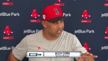 Alex Cora Reacts To Manny Machado Signing With The Padres
