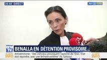 Alexandre Benalla placé en détention provisoire, son avocate dénonce un acharnement judiciaire