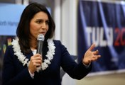 Rep. Tulsi Gabbard Pitches her Commander-In-Chief Credentials in N.H.