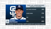 Tiki and Tierney: San Diego Padres sign Manny Machado