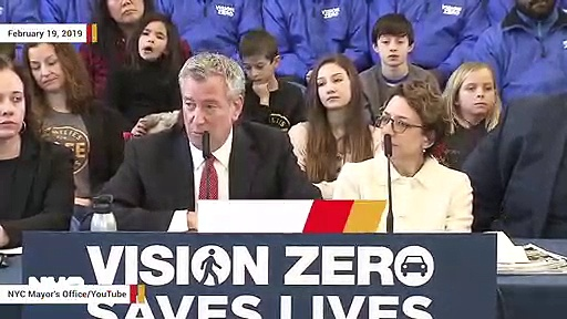 NYC Mayor Bill de Blasio Asked His Police Detail To Pull Over Driver For Texting While Driving