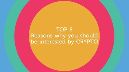 TOP 8 - Reasons why you should be interested by CRYPTO. Crypto Funny Advertising!