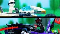 LEGO Ninjago STOP MOTION LEGO Ninjago: Zane vs Mr. E Bike Speed Build   LEGO Ninjago   Billy Bricks