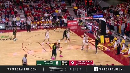 Baylor vs. No. 19 Iowa State Basketball Highlights (2018-19)
