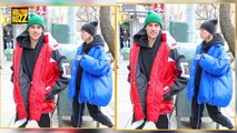 Justin Bieber And Hailey Baldwin Passionately Kisses At A Spa In NYC