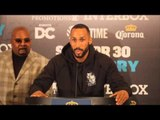 JAMES DeGALE SPEAKS FROM THE TOP TABLE TO THE MEDIA FRPM WASHINGTON DC / DeGALE v MEDINA