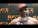 SHANNON BRIGGS -'I'LL KNOCK HAYE OUT COLD! IF I SEE YOU BEFORE FIGHT, ILL DRY SLAP YOU IN THE MOUTH'