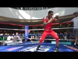 CONOR BENN SKIPPING & SHADOW BOXING @ PUBLIC WORKOUTS IN SCOTLAND / HISTORY IN THE MAKING