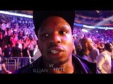 DILLIAN WHYTE REACTS TO ANTHONY JOSHUA BRUTAL STOPPAGE WIN OVER BRAVE DOMINIC BREAZEALE