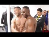 ** EXCLUSIVE **- GUILLERMO RIGONDEAUX DRESSING ROOM FOOTAGE FROM WALES / RIGONDEAUX v DICKENS